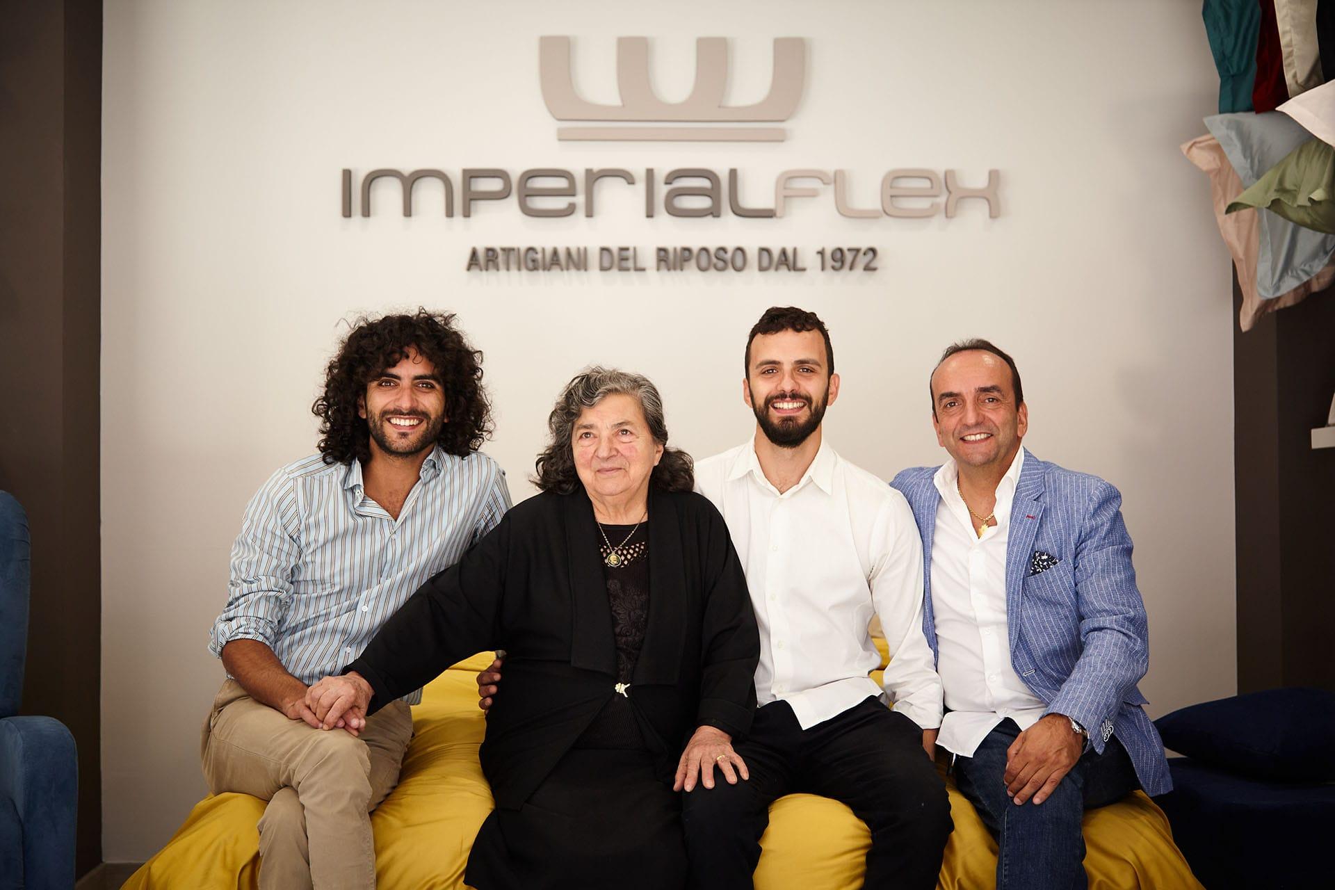 Storia di Imperialflex un'azienda di artigiani del riposo